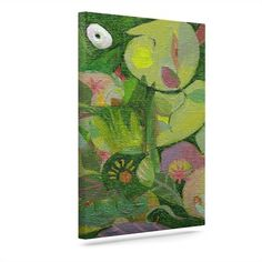 "KESS InHouse 'Jungle' by Marianna Tankelevich Graphic Art on Wrapped Canvas Size: 30"" H x 24"" W x 2"" D"