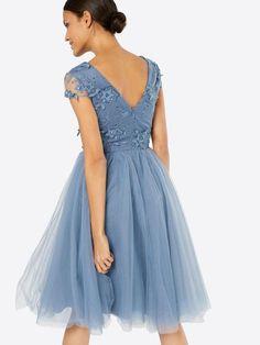 Chi Chi London Sukienka koktajlowa w kolorze niebieskim | ABOUT YOU