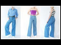 Jeans a vita alta - YouTube