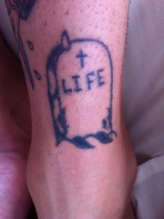 Life headstone (sorry if it's a little warped)