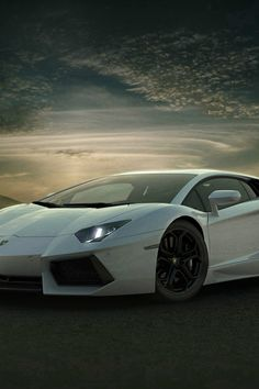 Lamborghini Car Exotic White Art #iPhone #4s #wallpaper