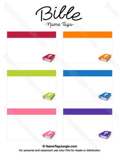 free printable bible name tags the template can also be used for creating items like