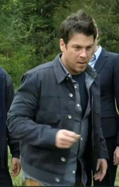 Jake Stone (Christian Kane) in The Librarians- Screen capped from the trailer of The Librarians by Mary E. Brewer- From #The Librarians