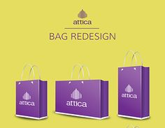 """Check out new work on my @Behance portfolio: """"Attica store bag redesign. Concept art"""" http://be.net/gallery/51023125/Attica-store-bag-redesign-Concept-art"""