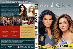 Rizzoli & Isles - Season 7 (2017) R1 Custom Cover & Labels