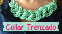 videos de collares tejidos - YouTube