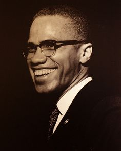 """""""Malcolm X (aka El-Hajj Malik El-Shabazz ; born Malcolm Little) Malcolm X, Black Panther Party, 3d Art, Handsome Black Men, Black Man, By Any Means Necessary, Black History Facts, Black Pride, Thing 1"""