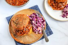 Pulled pork A Food, Good Food, Tzatziki, Trifle, Pulled Pork, Salmon Burgers, Quiche, Slow Cooker, Bbq
