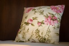 Pillow cover - Peony Peonies, Pillow Covers, Sewing Projects, Throw Pillows, Cushions, Pillow Case Dresses, Cushion Covers, Pillowcases, Paeonia Lactiflora