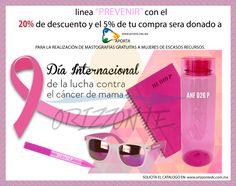 "#""prevenir"" #cancerdemama #tucompraayuda #orizzontedc"