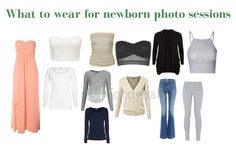 what to wear during newborn photo session mums clothing line