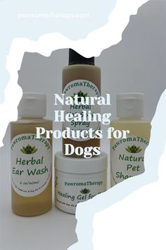 PawromaTherapy natural healing products for pets. Check out our all natural, handmade skin care products for dogs on Etsy. #pawromatherapy #aromatherapyfordogs #naturaldogproducts #petsupplies #naturalpet #naturaldog #dogskinproblems