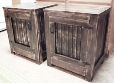 DIY Restoration Hardware Nightstands