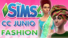 Los Sims 4  CC JUNIO ♥DESCARGAS CAS♥ ♥tesasims♥
