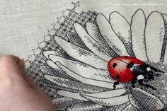 Blackwork embroidery: a step by step guide