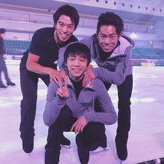 無良崇人選手、村上大介選手と : 羽生結弦選手と日本人スケーターのオフショットがかわいすぎる【随時更新】 - NAVER まとめ