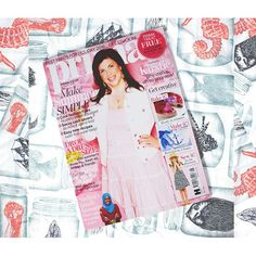 My jar teatowels and sailor cushions from my @georgeatasda homeware range are featured in Augusts @primamag 🎉🎉🎉