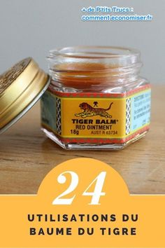 24 New Uses of Tiger Balm Tiger Balm, Vicks Vaporub, Natural Medicine, Natural Healing, How To Lose Weight Fast, Aromatherapy, Just In Case, Natural Remedies, Health Tips