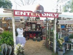 This was our booth @Warrenton Antique Show Spring 2015...