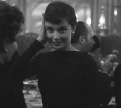 Audrey Hepburn in Paris, 1955
