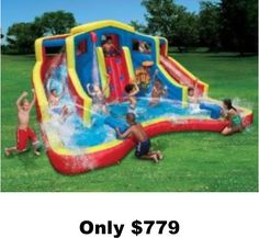 Awesome Water Slides Clearance