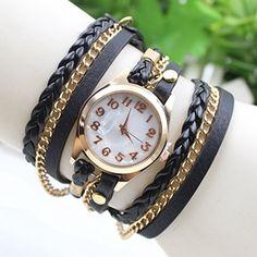Fashion Retro Quarzuhr Armreif Leder Armbanduhr Damenuhr Uhr U2 - http://uhr.haus/emall-supply/u2-fashion-retro-quarzuhr-armreif-leder-damenuhr
