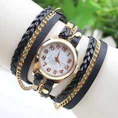 Fashion Retro Quarzuhr Armreif Leder Armbanduhr Damenuhr Uhr U2 - http://uhr.haus/emall-supply/u2-fashion-retro-quarzuhr-armreif-leder-damenuhr