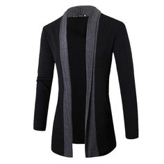 2019 Fashion Jacket Spring&Autumn Plus Size wrap coat Fashion Stylish Men Fashion Cardigan Jacket Slim Long Sleeve Casual Coat. Product ID: Cardigan Fashion, Knit Fashion, Men Fashion, Style Fashion, Fashion Shirts, Fashion Blogs, Fashion Brand, Long Sweater Coat, Men Sweater