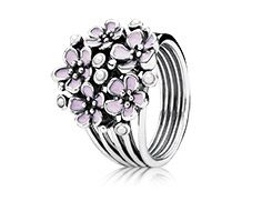 Cherry blossom bouquet - Pandora ring- This is so elegant and feminine! Yes please!