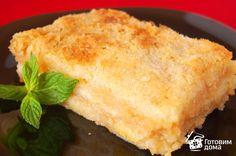 Насыпной яблочный пирог - Рецепт с фото на Готовим дома