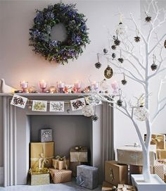 50 christmas decorating ideas to create a stylish home - Branch Christmas Tree