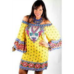 Dress yellow @lookqueniasandoval