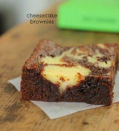Cheesecake Brownies (Vintage Kitchen Notes)