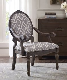 5b7c85a5203 Loving this Gray Diamond Exposed Wood Arm Chair on  zulily!  zulilyfinds  Exposed Wood