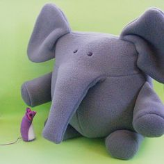 softie free patterns | ... softie pattern napolean and josephine elephant and mouse softie