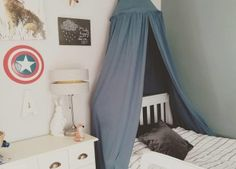 42 Our Favorite Boys Bedroom Ideas - How to Decorate a Boys Bedroom Boy Room, Shades Of Blue, Color Schemes, Toddler Bed, Kids Rugs, Bedroom Ideas, Cool Stuff, Boys, Playrooms
