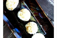 Avocado Onigiri with Ginger Kewpie Mayo Recipe on Food52, a recipe on Food52