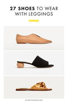 The perfect pair of shoes to wear with leggings? Yep, we found them.