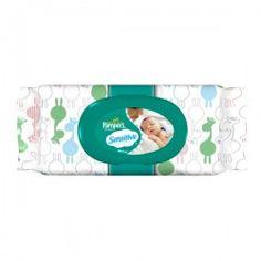 Pack de 8 Lingettes Bébés Pampers de la gamme New Baby Sensitive sur Couches Zone