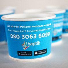 #paper #cup #brandname #advertising  #promote #promotion #disposable #app #haptik