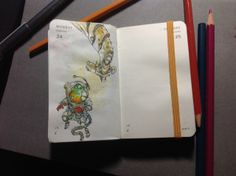 Number 55 of Kenneth Rocafort's 365 day sketch project (2014).