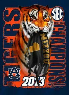 2013 SEC Champions - Auburn Tigers