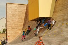 "fabriciomora: "" THE RAMPART WAVE (Lyon, France) - BASE Landscape Architecture """
