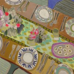 36x36 Tablescape #32 | Lulie Wallace