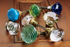 The Beauty of Glass Door Knobs | Doors | Interior | This Old House