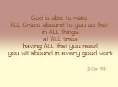 2 Cor 9:8