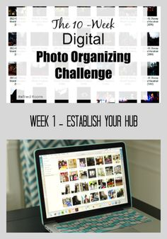 Week 1 – Establish Your Digital Photo Hub {Digital Photo Organizing Challenge}
