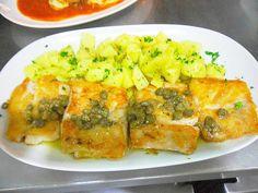 Robalo a Moda do Chef com batatas sauttè
