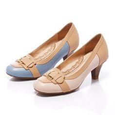 0-2080 Fair Lady 芯太軟 裸色系帶扣拼革跟鞋 粉 - Yahoo!奇摩購物中心 Fair Lady, Salvatore Ferragamo, Yahoo, Flats, Shoes, Fashion, Loafers & Slip Ons, Zapatos, Moda