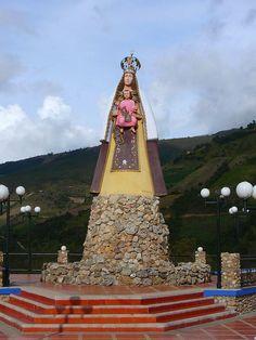 Monumento Virgen del Cobre by AgusValenz, via Flickr